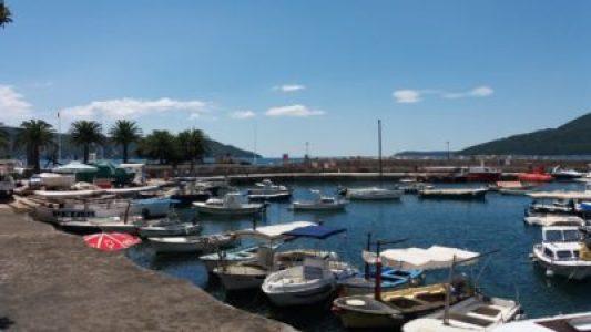 Le port d'Herceg Novi - Monténégro