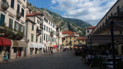 La place d'Armes de Kotor - Monténégro