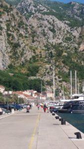 Les quais du port de Kotor - Monténégro