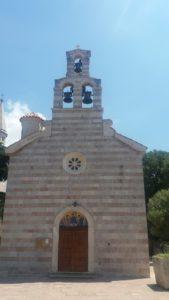 L'église de la Sainte Trinité de Budva - Monténégro