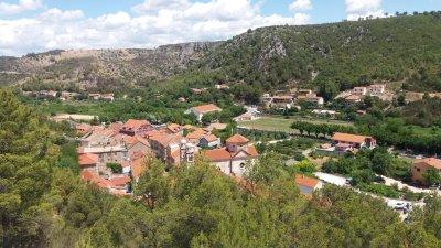 Vue sur Skradin depuis la forteresse - Croatie