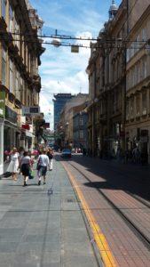 Les rues du centre ville - Zagreb