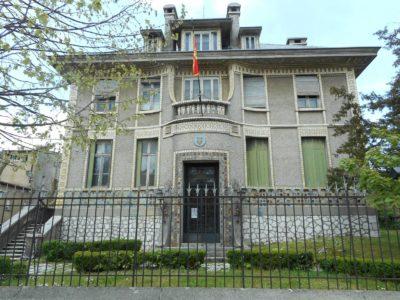 Ancienne ambassade de France à Cetinje - Monténégro