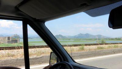 Nous quittons Virpazar pour Podgorica - Monténégro