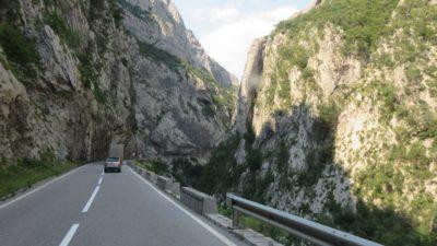 La route du canyon de la Moraca - Monténégro