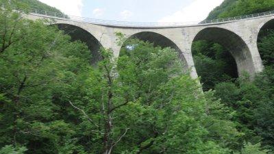 Viaduc entre Kolasin et Zabljak - Monténégro