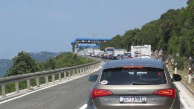 Frontière Monténégro - Croatie