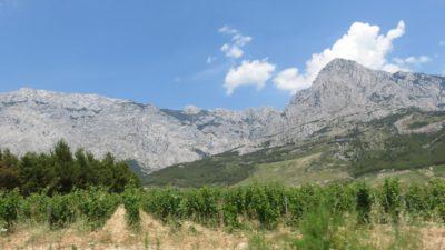 Montagnes du parc naturel du Biokovo - Croatie
