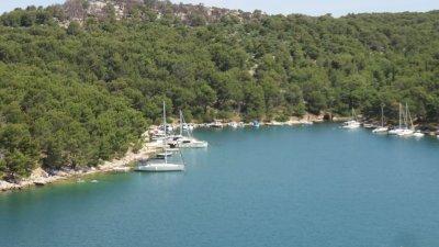 Le petit port de Brodarica - Croatie