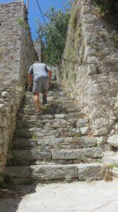 A l'assaut de la forteresse de Skradin - Croatie