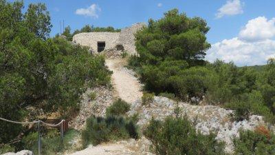 La forteresse de Skradin - Croatie