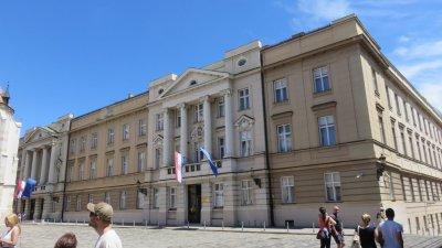 Le parlement - Zagreb