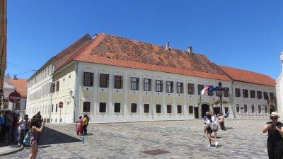 Le palais des Bans - Zagreb