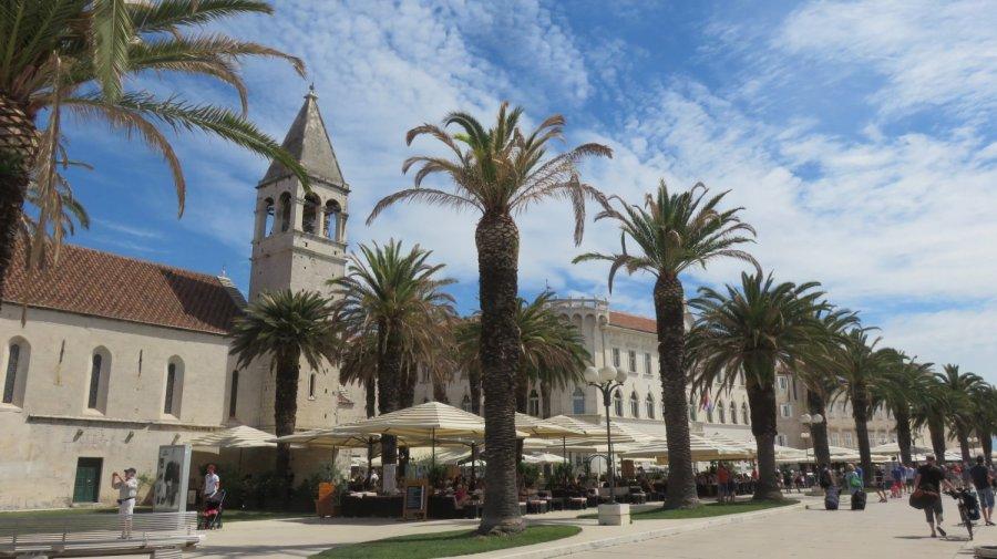 Le centre ville de Trogir