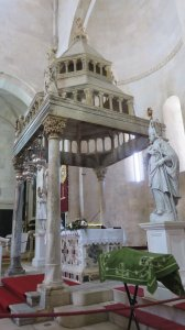 La cathédrale St Laurent de Trogir