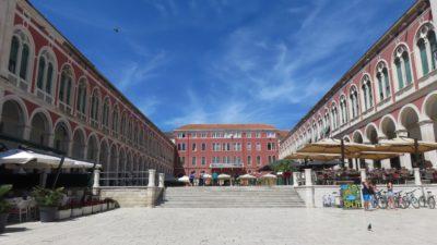 La place de la République - Split