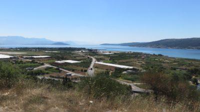 Sur la route entre Trogir et Split
