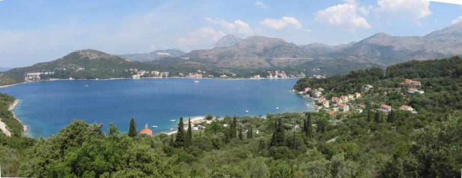Bord de mer splendide entre Doli et Slano - Croatie