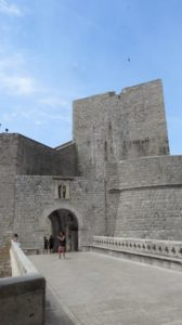 Porte de Ploce interne - Dubrovnik