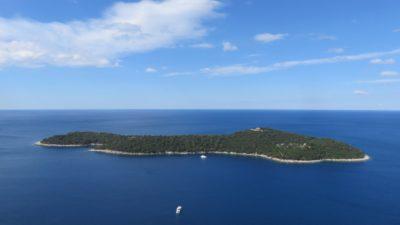 l'île de Lokrum - Croatie