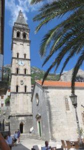 L'église Notre Dame du Rosaire - Perast (Monténégro)