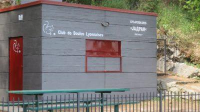 Club de boules lyonnaises à Perast - Monténégro
