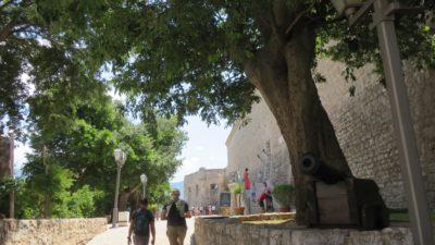 Au pied de la citadelle de Budva - Monténégro