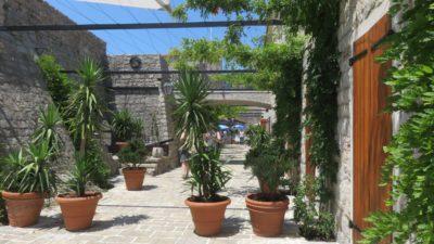 Dans la citadelle de Budva - Monténégro