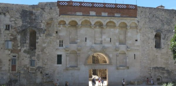 Porte d'Or du palais de Dioclétien - Split