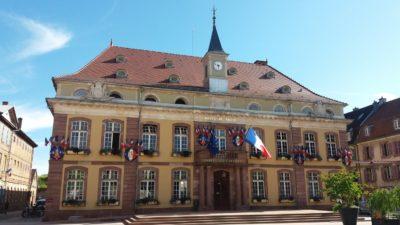 L'hôtel de ville de Belfort