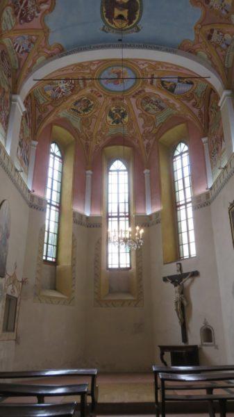 La chapelle St Georges du château de Ljubljana