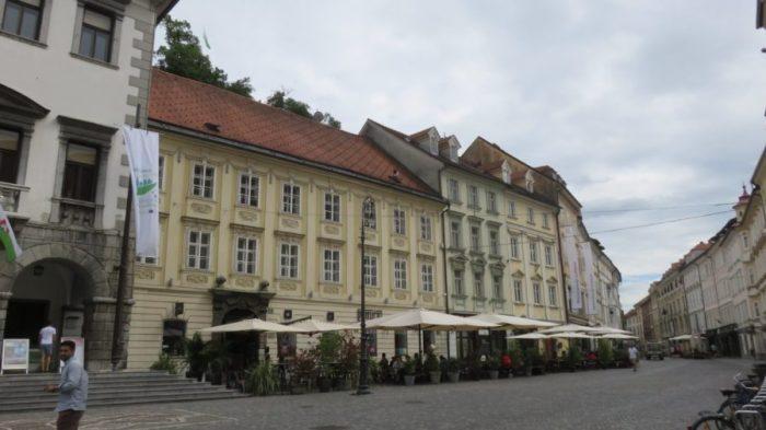 Place de l'hôtel de ville - Ljubljana