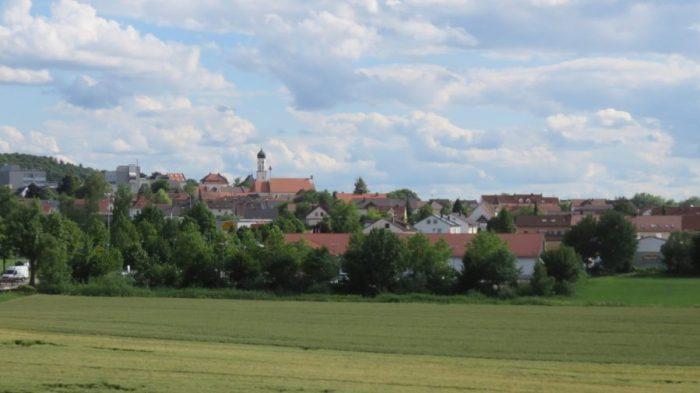 Le village de Zusmarshausen - Allemagne