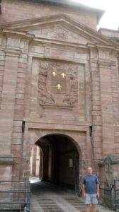 Devant la citadelle de Belfort