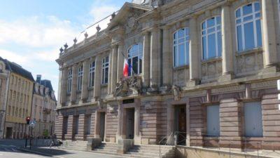 Le palais de justice de Belfort