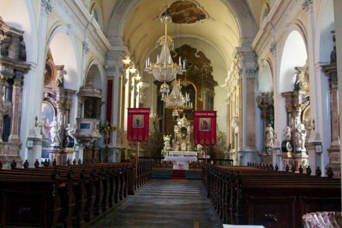 L'église St James de Ljubljana - Slovénie