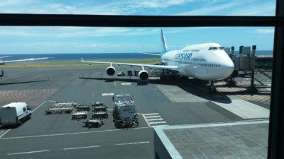Arrivée à St Denis (Réunion)