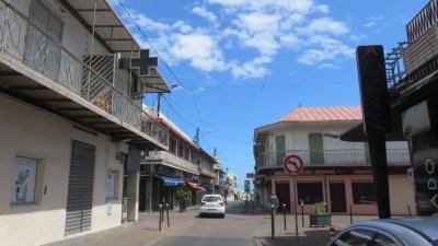 Dans les rues de St Denis (Réunion)