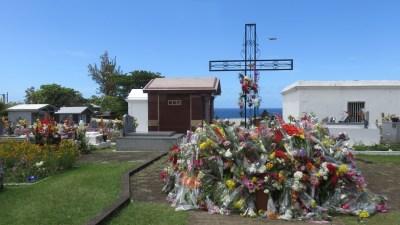 Le cimetière de Ste Suzanne (Réunion)