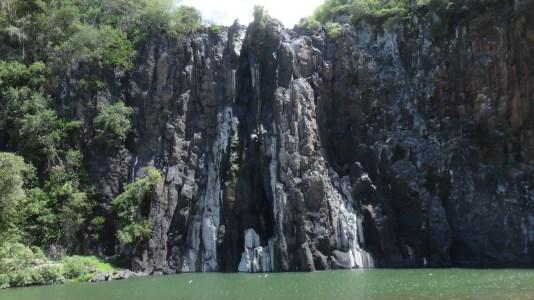 La cascade Niagara - Ste Suzanne (Réunion)