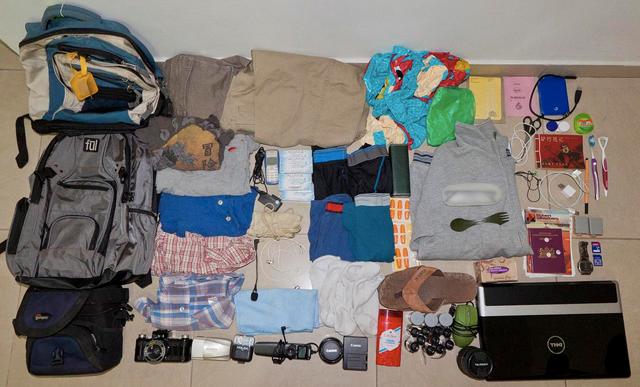 Préparer son sac à dos de voyage