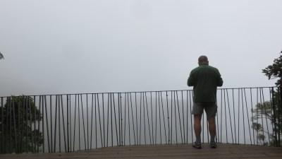 Au belvédère du Trou de Fer (Réunion)