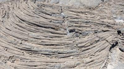 Lave Pahoe Hoe - Piton de la Fournaise