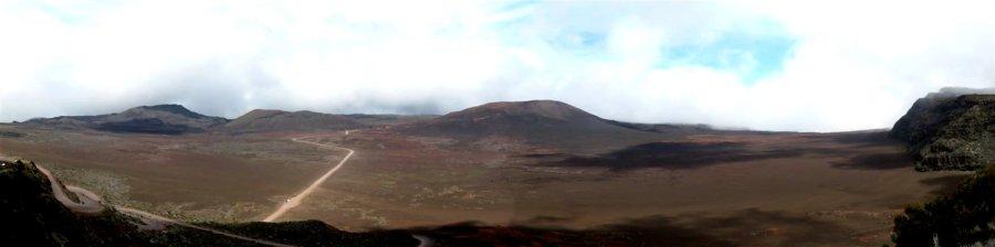 Vue depuis le Morne Langevin sur la Plaine des Sables