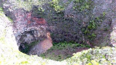 Le cratère Commerson