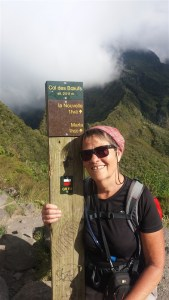 Au retour de la randonnée Salazie - Mafate