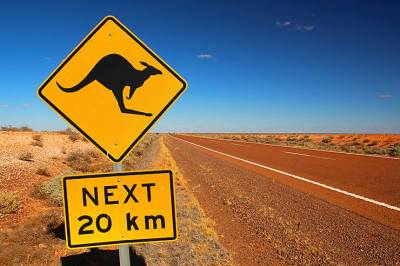 Sur la route - Australie