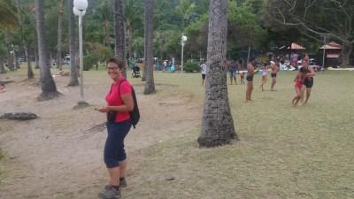 Sur la plage de Grande Anse - Réunion