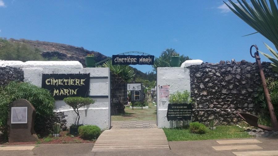 Le cimetière marin de St Paul - Réunion