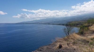 La côte depuis le Cap La Houssaye - Réunion